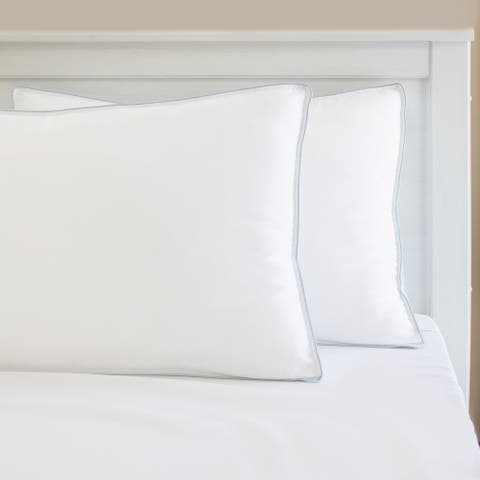 Memory Foam Cluster and Gel Fiber Bed Pillow from Charisma