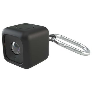 Polaroid Bumper Pendent Case (Black) for the Polaroid CUBE HD Action Lifestyle C
