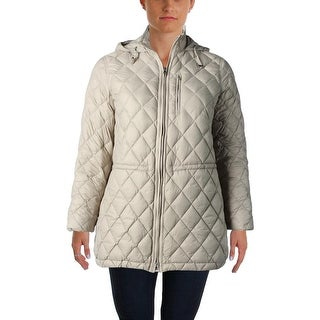 Lauren Ralph Lauren Womens Plus Coat Down/Feather Fill Quilted