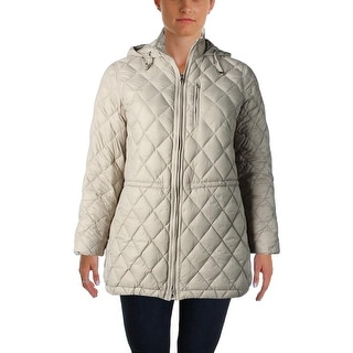 Lauren Ralph Lauren Womens Plus Coat Down/Feather Fill Quilted - 1X