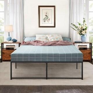Shop Vecelo Metal Beds 14 Inch Platform Bed Frames Mutiple