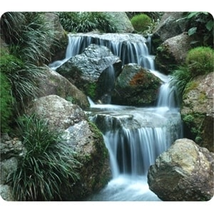 Fellowes Inc. 5909701 Fellowes Earth 5909701 Waterfall Mouse Pad - Rubber Base