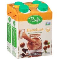 Pacific Natural Foods Non Dairy Beverage - Hazelnut Chocolate  - Case of 6 - 8 Fl oz.