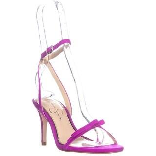 Jessica Simpson Purella Heeled Sandals, Hot Shot Pink