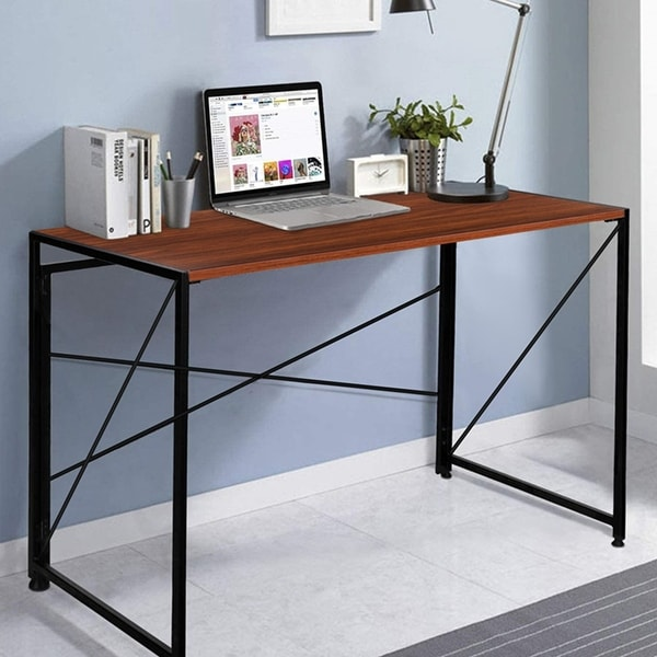 NOVA FURNITURE Folding Home Office Industrial Computer Desk. Opens flyout.