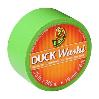 Duck Washi® Crafting Tape, .75 in. x 240 in.