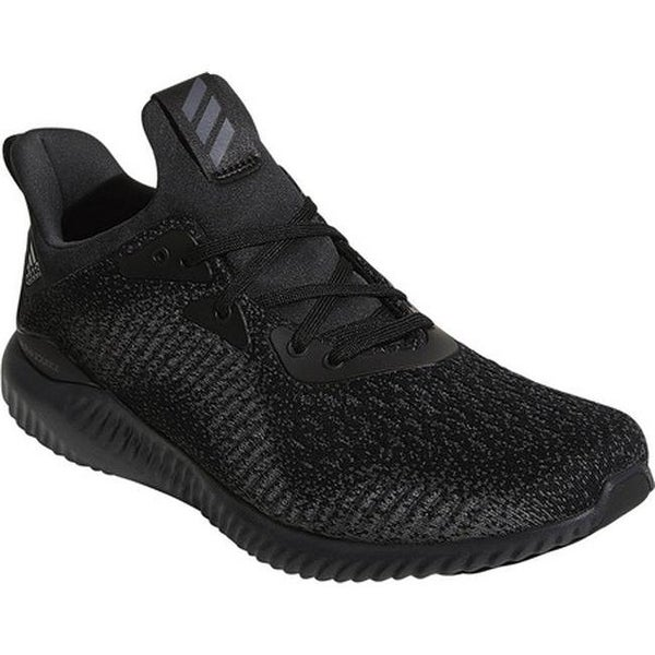 50f58b48b adidas Men  x27 s AlphaBOUNCE EM Running Shoe Core Black Night Metallic