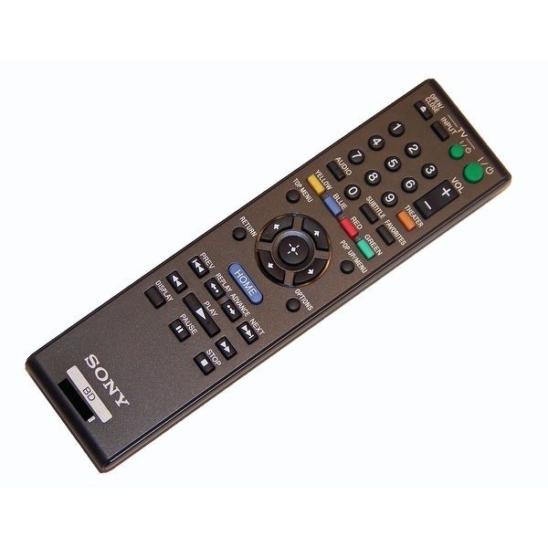 OEM Sony Remote Control Originally Supplied With: BDPS370, BD-PS370, BDPS470, BD-PS470, BDPS570, BD-PS570
