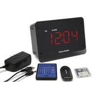 Spy Tec Sc8000hd Zone Shield Hd Night Vision Clock Radio Camera