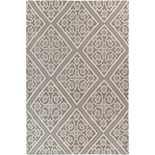 Hand-woven Brierley Reversible Wool Area Rug