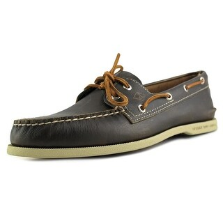 Sperry Top Sider A/O Waterloo Moc Toe Leather Boat Shoe