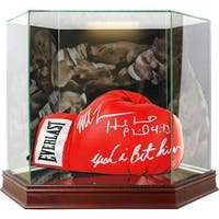 Mike Tyson  Evander Holyfield Photo Background Glove Case