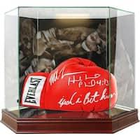 Mike Tyson  Evander Holyfield Photo Background Glove Case