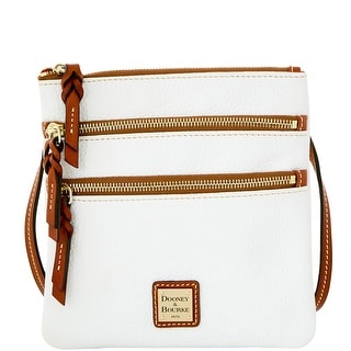 Dooney & Bourke Pebble Grain Triple Zip (Introduced by Dooney & Bourke at $138 in Dec 2015) - White