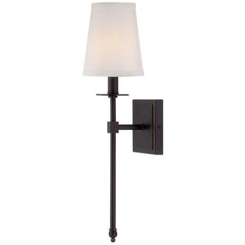 "Savoy House 9-302-1 Monroe 1 Light 20"" Tall Wall Sconce"