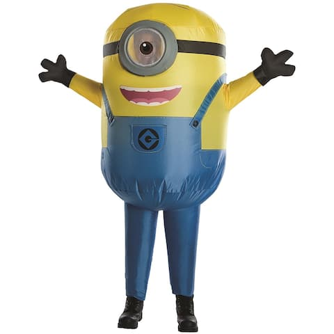 Inflatable Minion Stuart Child Costume - Yellow