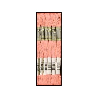 Sullivans Emb Floss 8.7yd Medium Pink