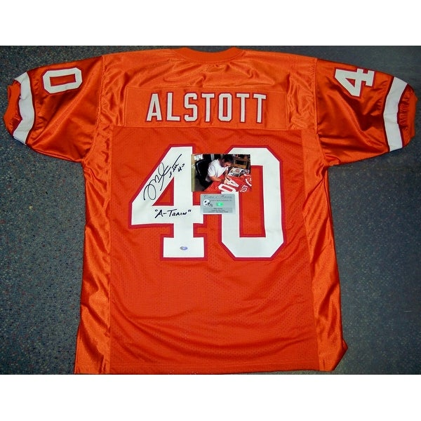 Shop Mike Alstott Hand Signed Bucs Orange Throwback Jersey - PSA DNA - Free  Shipping Today - Overstock.com - 12905375 ccc645ebe
