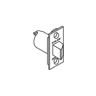 """Schlage 11-068 2 3/8"""" Replacement Spring latch with Square Corner 1"""" x 2 1/4"""" Faceplate (Option: Chrome Finish)"""
