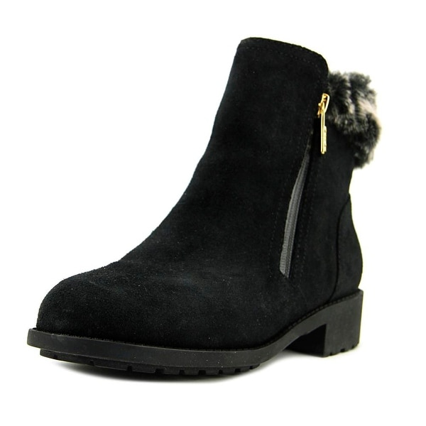 Cole Haan Quinney WP Bootie Round Toe Suede Winter Boot