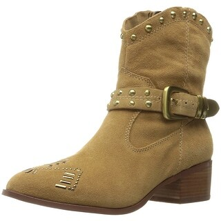BCBGeneration Womens lokki Suede Pointed Toe Ankle Cowboy Boots (More options available)