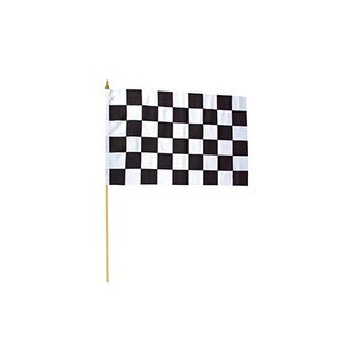 "12"" X 18"" Polyester Racing Flags Standard (1 dozen)"