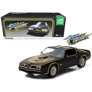 1977 Pontiac Firebird Trans Am 'Smokey and the Bandit' (1977) Movie Artisan Collection 1/18 Diecast Model Car by Greenlight