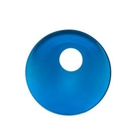 Replacement Waterfall Faucet Glass Disc Plate Dark Blue