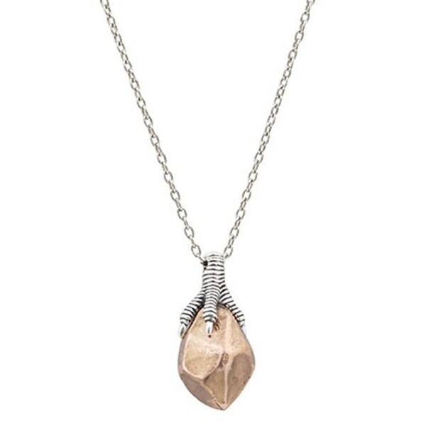 House Of Harlow 1960 Womens Pendant Necklace Antique Talon Rose Gold - Rose Gold/Silver