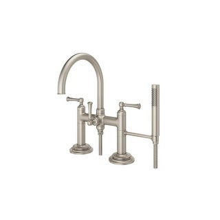 Pfister LG6-2TB Tisbury Deck Mounted Tub Filler with Hand Shower - N/A