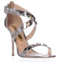 Rupert Sanderson Tiffany Strappy Dress Sandals, Silver