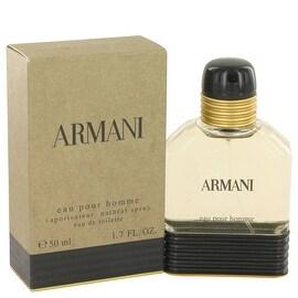 ARMANI by Giorgio Armani Eau De Toilette Spray 1.7 oz - Men