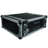 Seismic Audio 4 SPACE RACK CASE Amp Effect Mixer PA/DJ PRO Audio