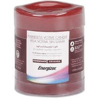 Lorell EVETVS1DL060 Flameless Wax Candle - Orange Pumpkin