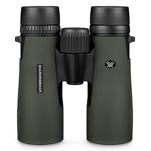 Vortex Optics DB-205 Diamondback 10x42 Roof Prism Binoculars - Black & Green
