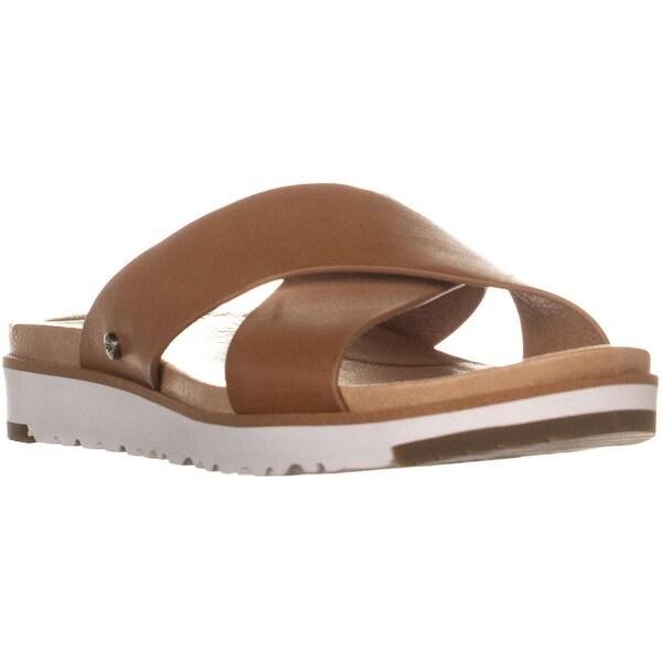 05cdf5212d9 Shop UGG Kari Slide Sandals, Natural - 6.5 US / 37.5 EU - Free ...