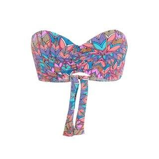 Sundazed Women's Bae Push-Up Underwire Bra-Sized Bikini Top - Multi