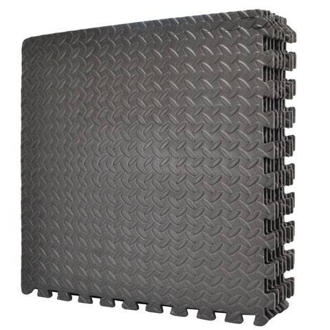 "Wacces Multi-Purpose Floor Interlocking Foam Mat Tiles ( 24""x24"" )"