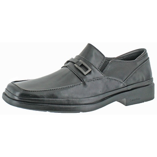 Calvin Klein Men's Vallen Smooth Leather Loafer Shoes