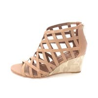 Donald J Pliner Womens jordon Open Toe Casual Mule Sandals - burn calf - 6.5