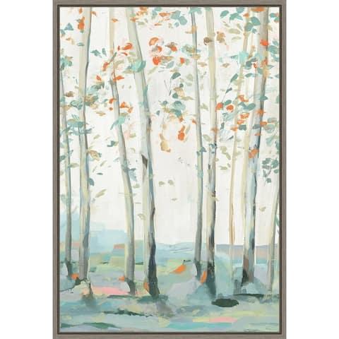 Emerald Forest I by Isabelle Z Framed Canvas Art