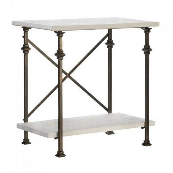 Sensational Accent Plus 10018516 Iron Wood Console Table Spiritservingveterans Wood Chair Design Ideas Spiritservingveteransorg