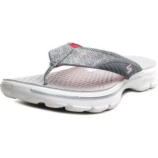 Skechers Go Walk-Pizazz Women Open Toe Canvas Flip Flop Sandal