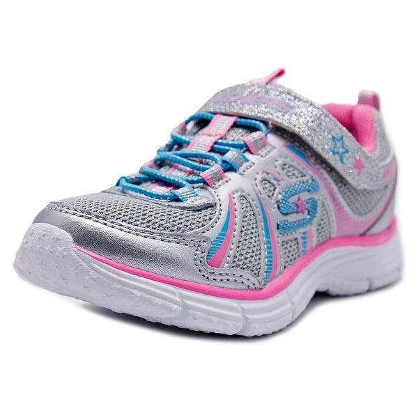 e4f56f8cee0c Shop Skechers Girl Ectatix-Wunderspark Round Toe Canvas Tennis Shoe ...