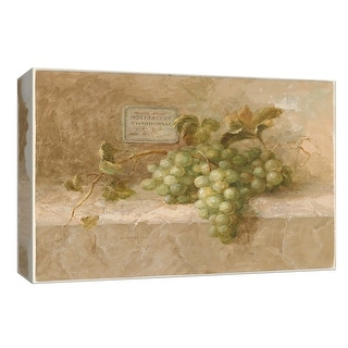 """PTM Images 9-153690  PTM Canvas Collection 8"""" x 10"""" - """"Chardonnay Grapes"""" Giclee Fruits & Vegetables Art Print on Canvas"""