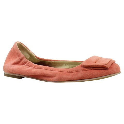 Hush Puppies Womens Hw06009-805 CoralSuede Ballet Flats Size 6