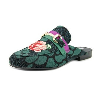 Steve Madden Kandi Women  Round Toe Canvas Multi Color Loafer
