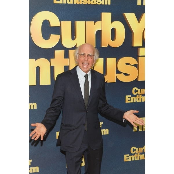 Larry David At Arrivals For HboS Curb Your Enthusiasm Ninth Season Premiere  The School Of Visual Arts Theatre New York Ny Septem