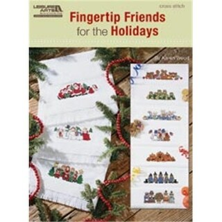 Leisure Arts 455016 Leisure Arts-Fingertip Friends For The Holidays