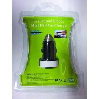 mini USB Travel car Charger works w/iPad